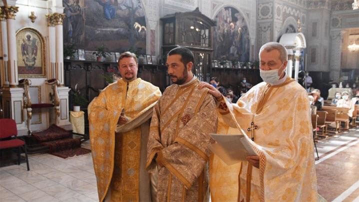 Hirotonire de preot în catedrala Lugojului, septembrie 2021