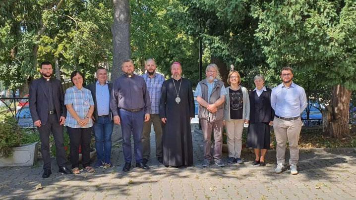 Prima întâlnire a noului Birou pentru comunicații sociale din cadrul Episcopiei Greco-Catolice de Cluj-Gherla