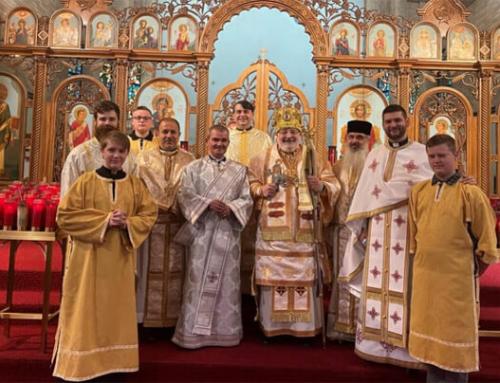 Hirotonire diaconală în Catedrala Sf. Gheorghe din Canton
